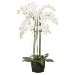 XXL Orchidee künstlich weiß
