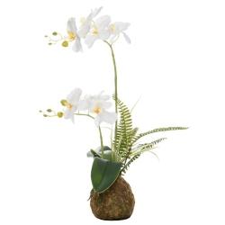Orchidee künstlich weiß