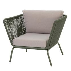 Loungestuhl Iris Olivegrün