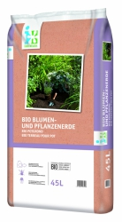 Bio-Blumenerde 45L