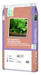Bio Kompost/ Hochbeeterde 45L