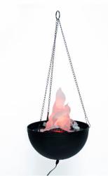 Deko-Feuerschale hängend