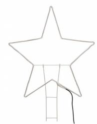 Stecker Stern mit Beleuchtung XL